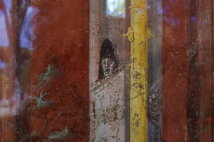 Un dettaglio degli affreschi di Moregine negli scavi di Pompei | © Anna Monaco - Campaniasuweb