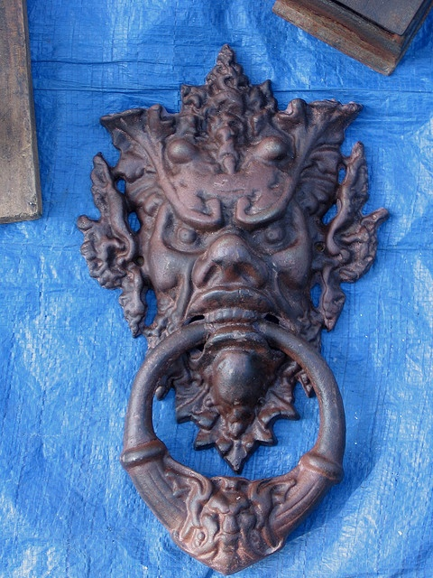Awesome door knocker!