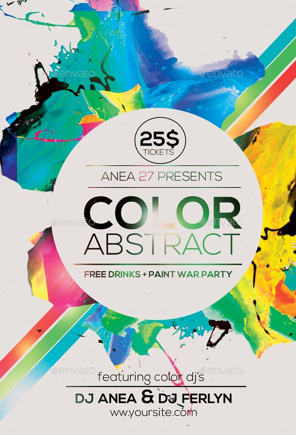 Color Abstract Flyer