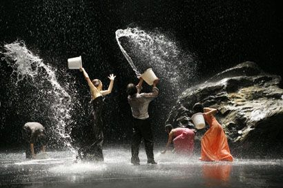 "Pina Bausch - ""Dansez dansez sinon nous sommes perdus"" (translated: 'Dance, dance otherwise we are lost')"