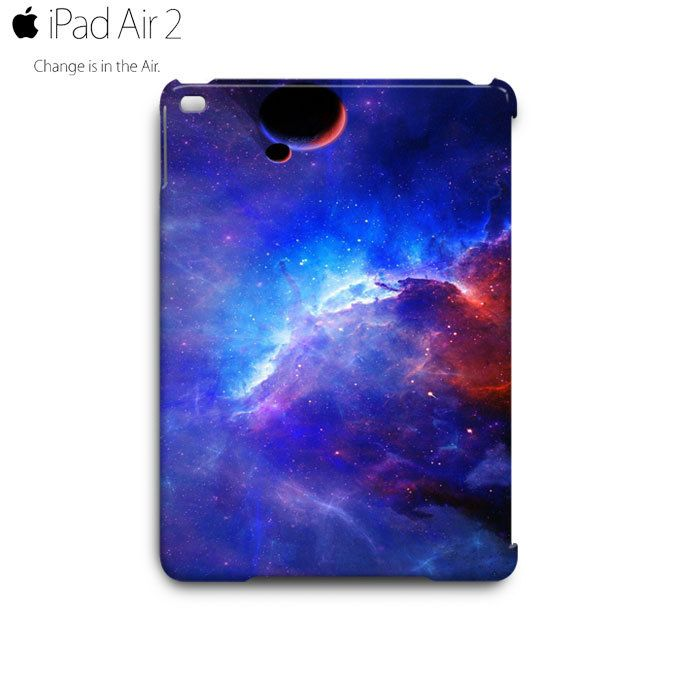 Space Azure Nebula iPad Air 2 Case Cover Wrap Around