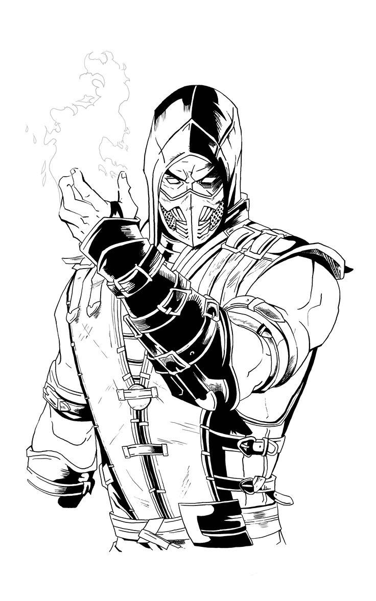 Scorpion Mortal Kombat X in 2020 Scorpion mortal kombat