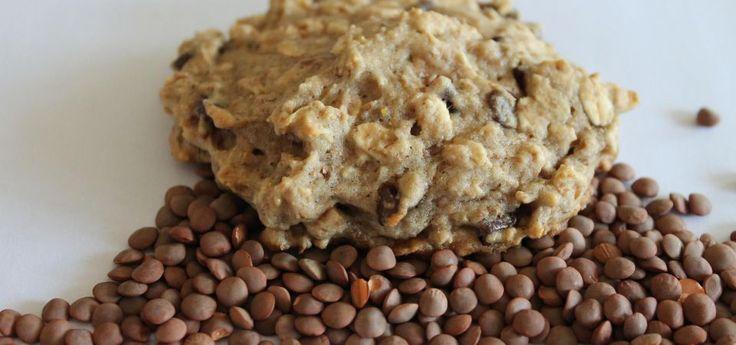 Lunchbox Lentil Cookies