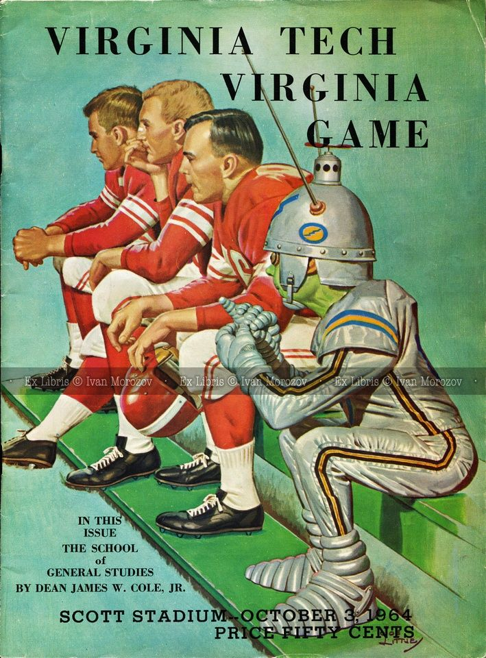 1964.10.03. Virginia Tech (Hokies) at University of