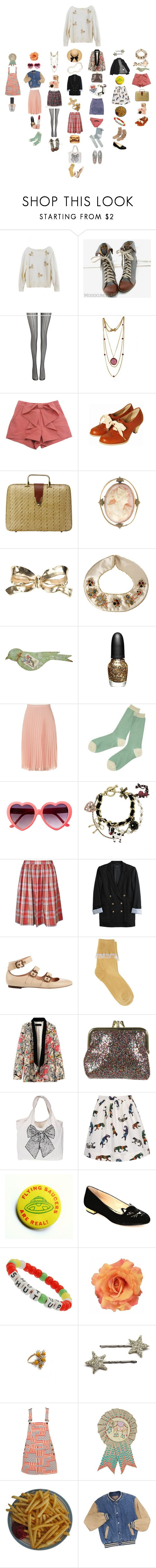 """Untitled #2172"" by duumbblond ❤ liked on Polyvore featuring Fogal, CO, Cameo, Yves Saint Laurent, ASOS, Sephora Collection, Jane Norman, Le Bac by united bamboo, Betsey Johnson and Alaïa"