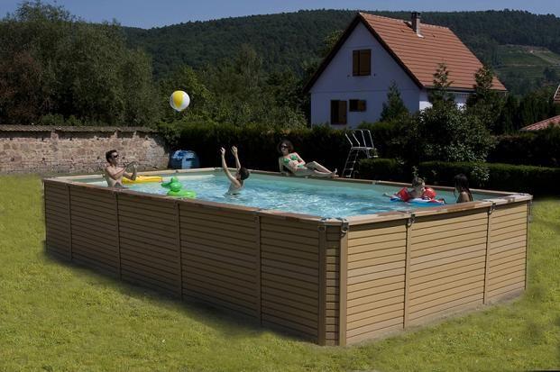 Les 25 meilleures id es concernant piscine hors sol for Piscine zodiac rectangulaire