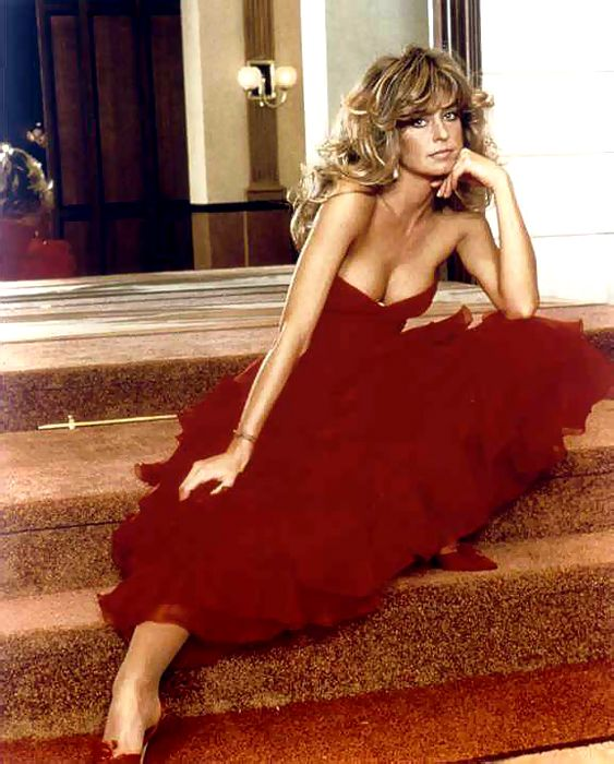 Farrah Fawcett -- classic (Yes, I had a FF haircut as a Beautiful Bride in 1975!!)