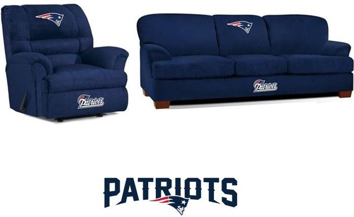 [[start tab]] Description The New England Patriots NFL All Star Fan Cave Set is made especially for the Big and Tall Fan. It includes the Big Daddy Rocker Wall-Away Recliner and First Team Sofa. The S