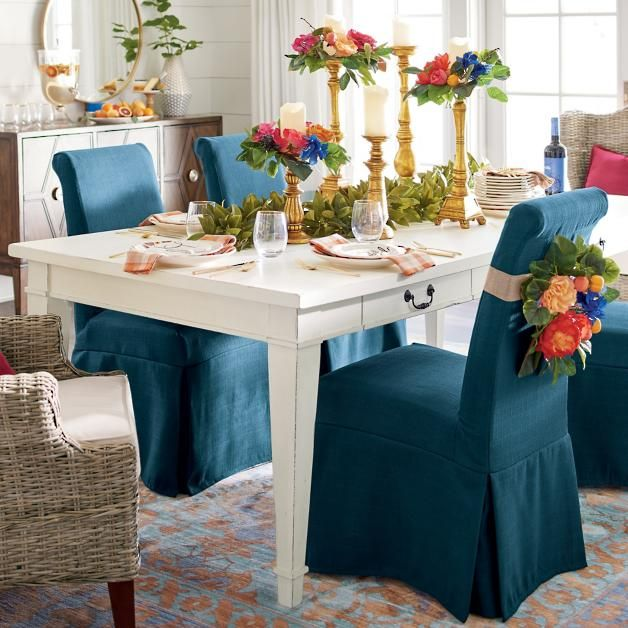 Creating your own traditions is more important than ever as a way to find an oasis in a busy life, so we're suggesting a weekly day of celebration and feasting at the Willow Hill Dining Table. This family-ready wood table is from the Magnolia Home Farmhouse Dining collection. Like a great, classic home-crafted farm table, it's built with four storage drawers on both of the long sides of the table. You can quickly organize napkins, cloth placemats, coasters, and n...