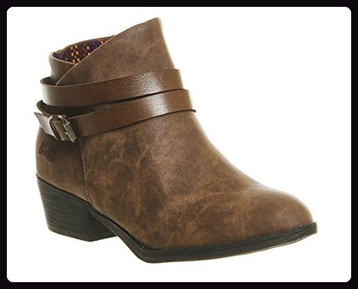 Blowfish, Damen Stiefel & Stiefeletten , braun - Coffee Texas - Größe: 39 -