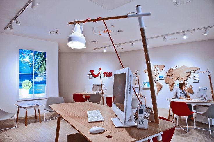 KDesign Architekci | TUI – nowy koncept biur podróży