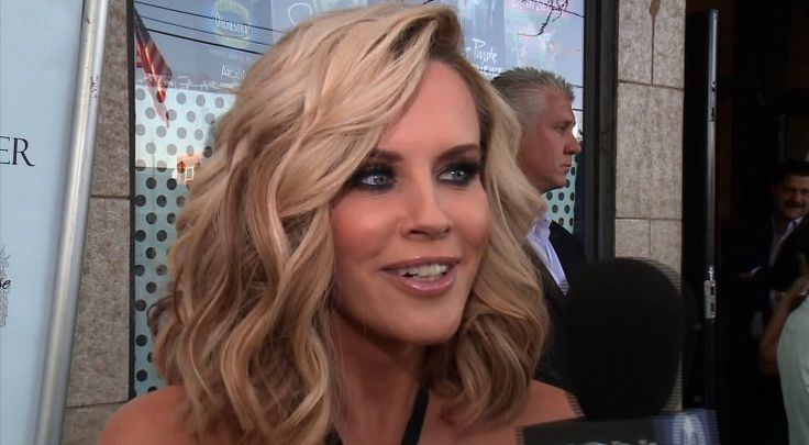 Jenny McCarthy was holding nothing back at the Donnie Wahlberg gala Monday night. The 44-year-old star had no problem showing off a pair of signed, orange and pink printed granny panties to WGN producer Jeff Hoover. Although not the exact pair, the granny panties were a humorous reminder for McCarthy who says she remembers spending her pregnant days in them and had given Hoover a signed pair in the past.