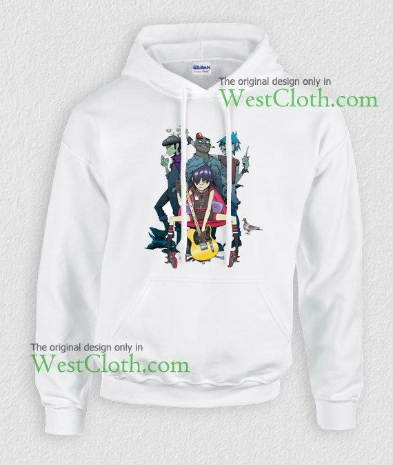 Gorillaz band hoodie, Gorillaz band hoodies available only for adults