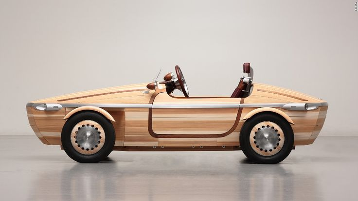 Japanese car manufacturer Toyota has shared a sneak peek at its new concept vehicle which is constructed primarily out of wood.