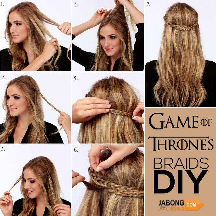 You have to try this girls! Period. #GameOfThrones​ ;) #Fashion #Hairstyle #Braid