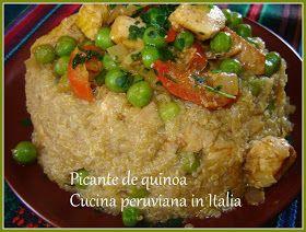 Cucina peruviana in Italia: PICANTE DE QUINOA