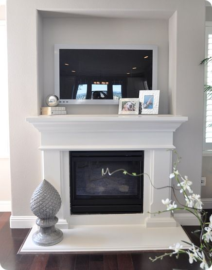 Blue Eyes could build a fireplace surround as wonderful as ...