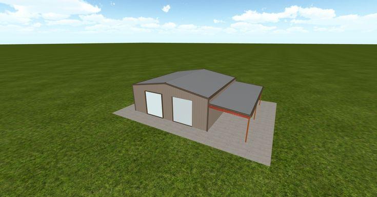 Cool 3D #marketing http://ift.tt/2A7Fh3l #barn #workshop #greenhouse #garage #roofing #DIY