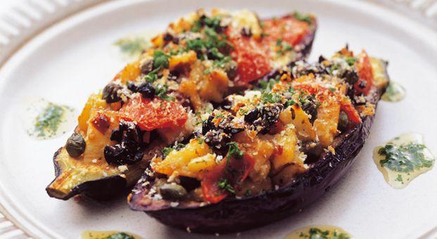 なすのグリルシチリア風 Grilled egg plant Sicilian