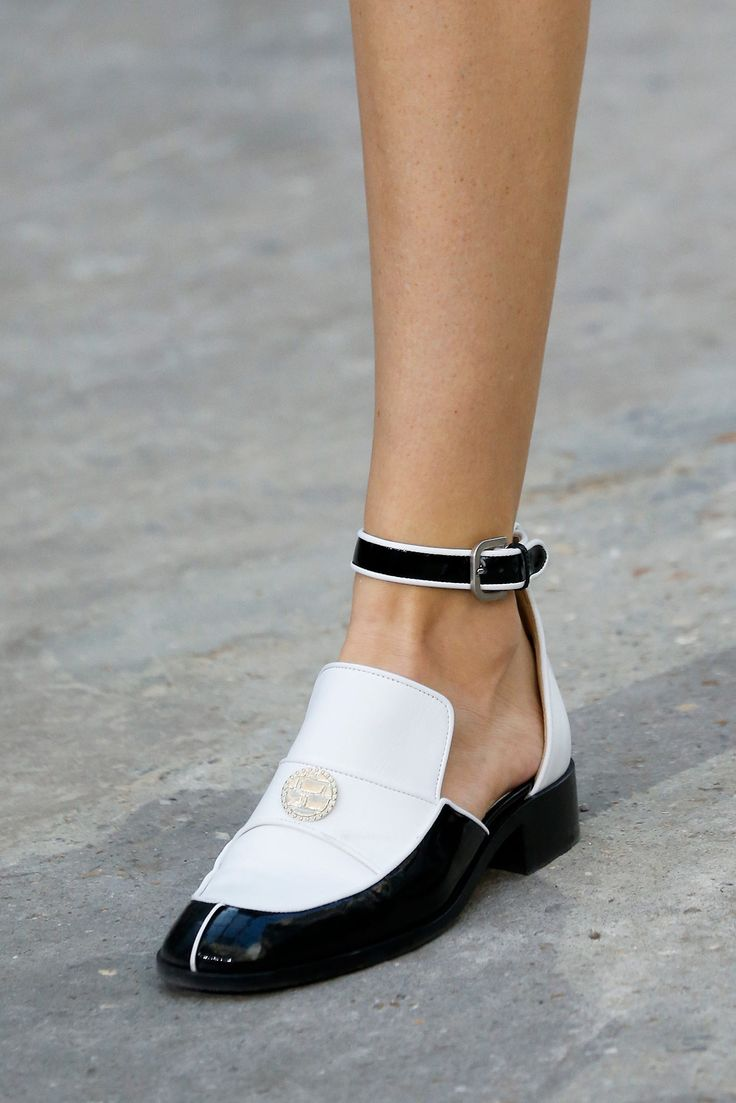 """"""" The Ankle Strapped Brogues @ Chanel Spring 2015 """""""