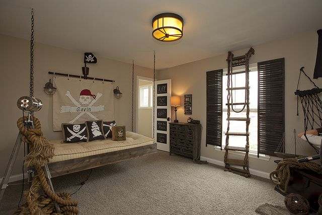 Pirate Bedroom! Fischer 764 by BIA Parade of Homes Photo Gallery, via Flickr