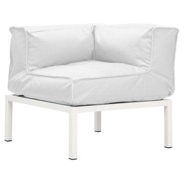 Check out this item at One Kings Lane! Copacabana Corner Seat, White