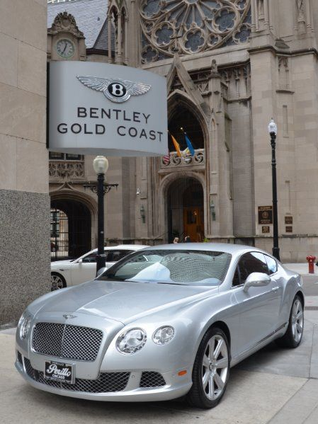 Used 2012 Bentley Continental GT-Chicago, IL #Fun accessories