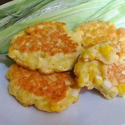 Sweet Corn Fritters | These fritters make the sweet corn of summer sing and will have your kids loving their vegetables. They aren't messy either so can be placed in a Ziploc and brought to the park or the beach for a snack.