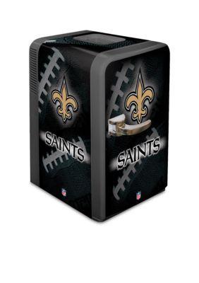 Boelter  Nfl Saints Portable Party Refrigerator - Black - One Size