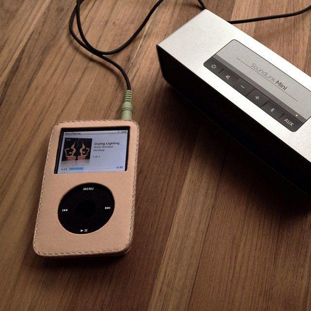 เคสหนัง iPod Classic จาก Nerb Handcrafted