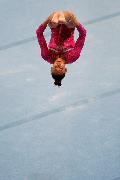 Kyla Ross - Artistic Gymnastics World Championships Day 5 FX