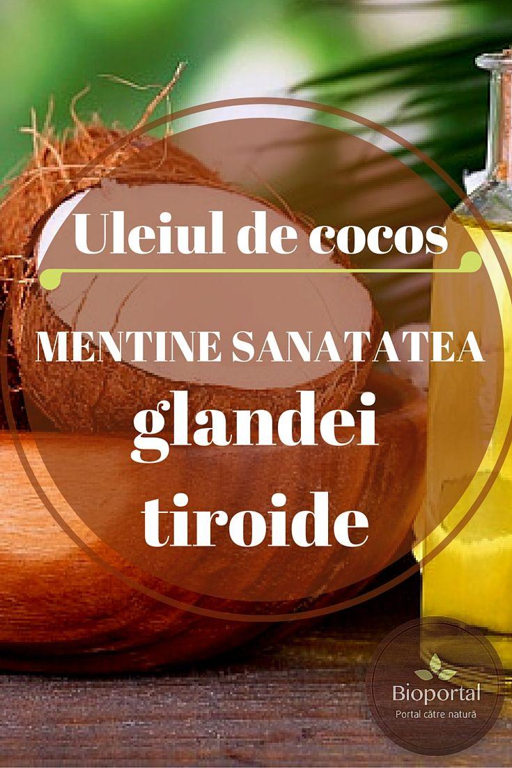 Stiai ca...uleiul de cocos mentine sanatatea glandei tiroide? Pe Bioportal gasesti ulei de cocos la cel mai bun pret:http://goo.gl/IiWThQ