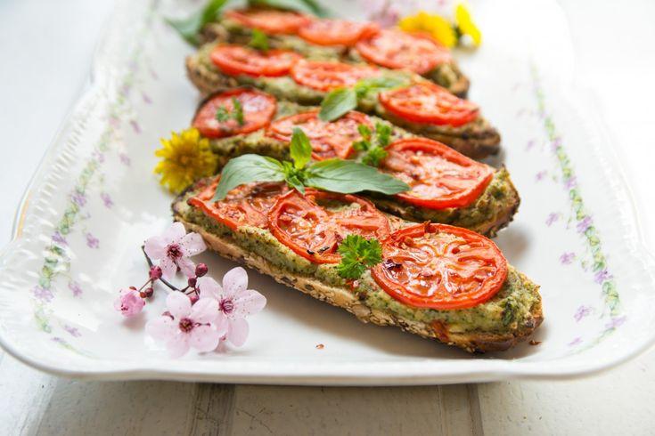 Brokolicové zapékanky s rajčaty