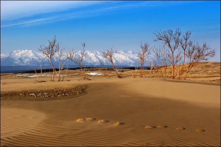 Чарские пески в Читинской области