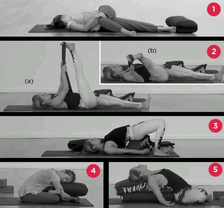 Kathryn Budig.. restorative yoga for bedtime