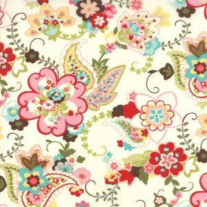 moda sophie fabric: Home, Floral Cream, Paisley Floral, Fashion, Girl, Color, Sophie, Fabrics, Room
