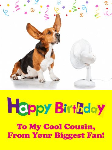 Funny Birthday Card For Cousin This Special Happy Birthday Card