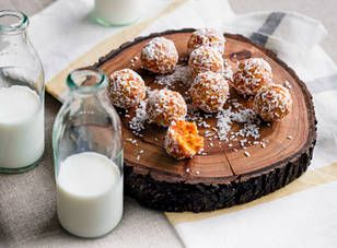 Apricot and coconut balls by Louise Fulton Keats recipe - Practical Parenting Magazine - Yahoo!7 Lifestyle