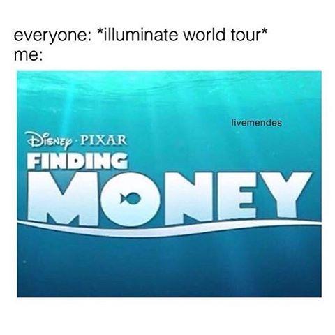 Ohmygod I wish I could go but... I'm broke...... #mendesarmy tho