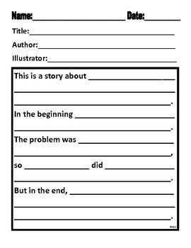 how to writing a summary paragraph middle school