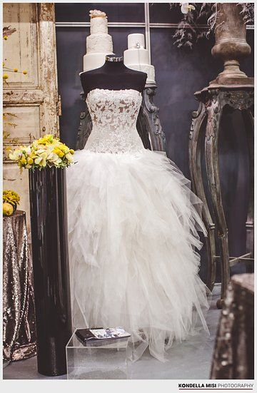 Wedding dress by Eva Halasz