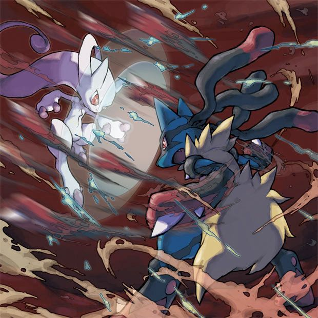 'Pokemon X and Y' Reveals Mega Evolutions For MewTwo, Lucario And Blaziken