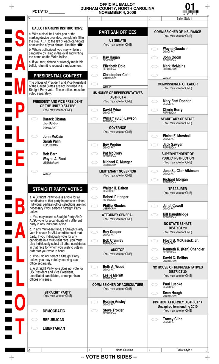 Sample ballot - Republican primary - Rogers County, Oklahoma ...