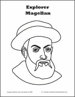 ccm gamma w1 history ferdinand magellan coloring sheet