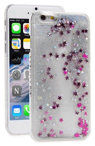 SKINNY+DIP+Skinnydip+'Silver+Glitter'+Liquid+iPhone+6+Case