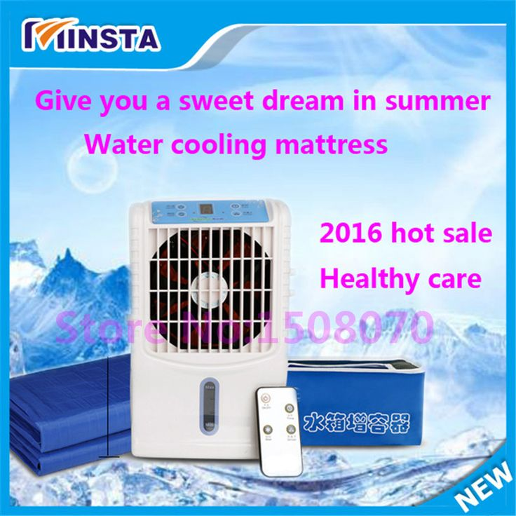 1 kilowatt electric = 200 hours usage energy saving portable air conditioner 6w electric water cooler PVC mattress pad