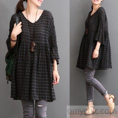 Sweet plus size linen dress summer maternity dresses casaul dress