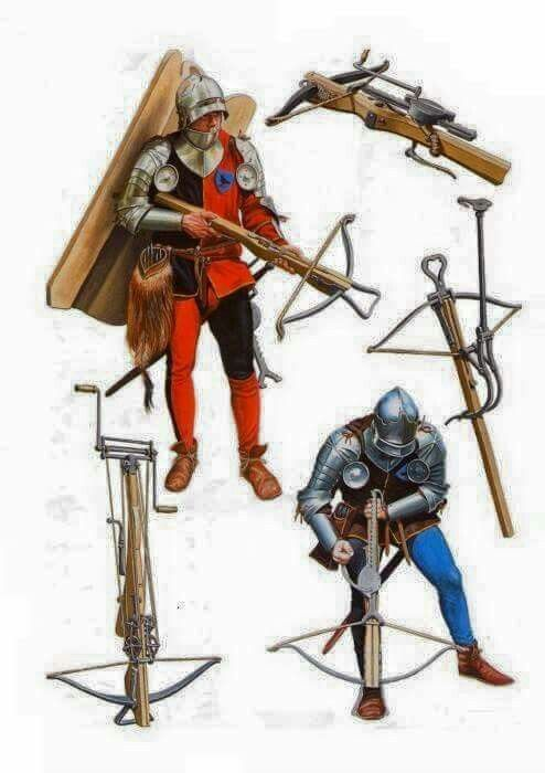 common medieval weapons