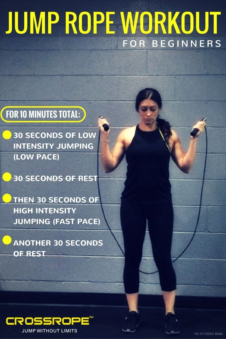 Jumping rope results