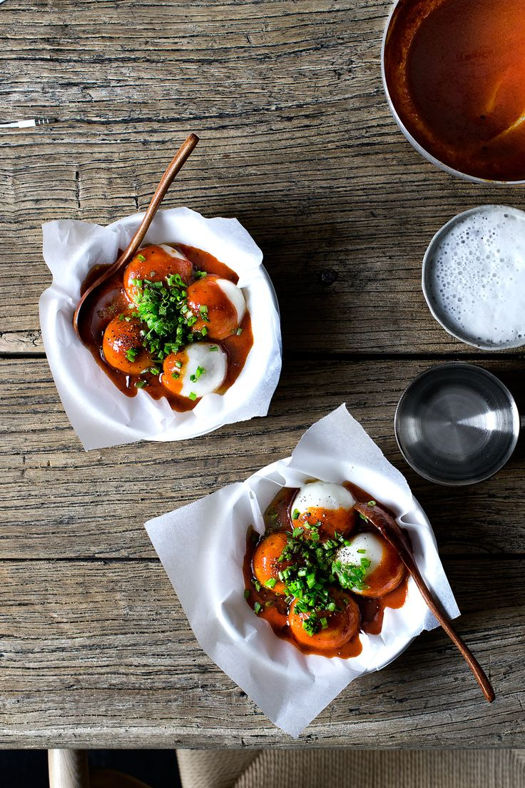 PORK STICKY RICE BALLS W QUICK TTEOKBOKKI SAUCE | Lady and Pups – an angry food blog